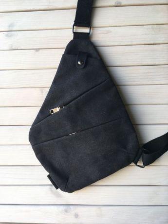 ca650cbaed7c Мужская сумка Cross Body / Сумка Мессенджер Fino(серый) купить по ...