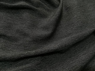 Ткань стрейч джинс тонкий темно-серый