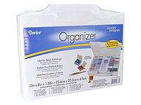 Органайзер для бисера Bead Organizer Storage Case with 52 Removable Containers (Art. 1157-10)
