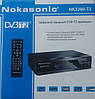 Цифровой эфирный DVB-T2 приемник Nokasonic NK 3200-T2 ресивер / приставка , фото 2