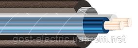 ВВГ нг 2х1,5 Плоский силовой кабель с медными жилами в ПВХ оболочке (не поддерживающий горения)