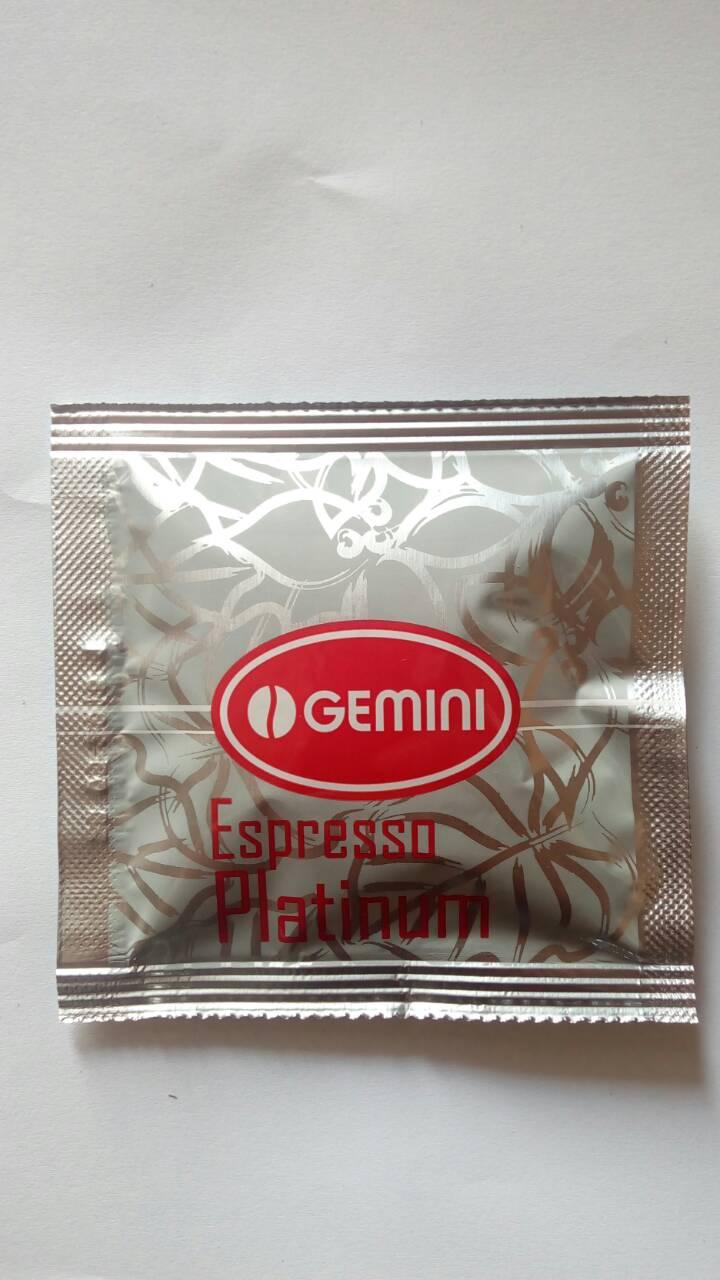 Кофе в чалдах Gemini Espresso Platinum 100 шт.