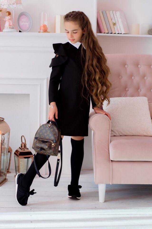 Платье LiLove 421 140 черный