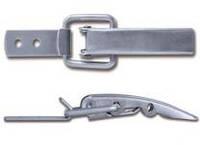 Защелка нержавеющая 3/70F A2 AISI 305 (131 х 30 мм)