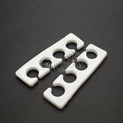 Многоразовые силиконовые разделители для пальцев ног