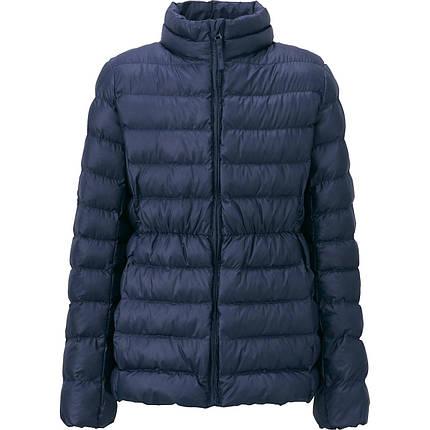 Куртка Uniqlo Girls Light Warm Padded NAVY, фото 2