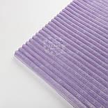 "Отрез плюша в полоску ""Stripes"" размером 100*80 см лавандового цвета, фото 3"