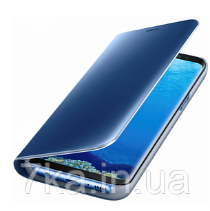 Чехол-книжка Original mirror Samsung S7 Blue, фото 2