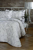 Комплект постельного белья СЕМЕЙНЫЙ PAVIA NORA GREY(GRI) серый