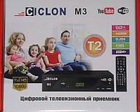 Цифровой тюнер Т2 приемник телевизионный приставка CICLON M3