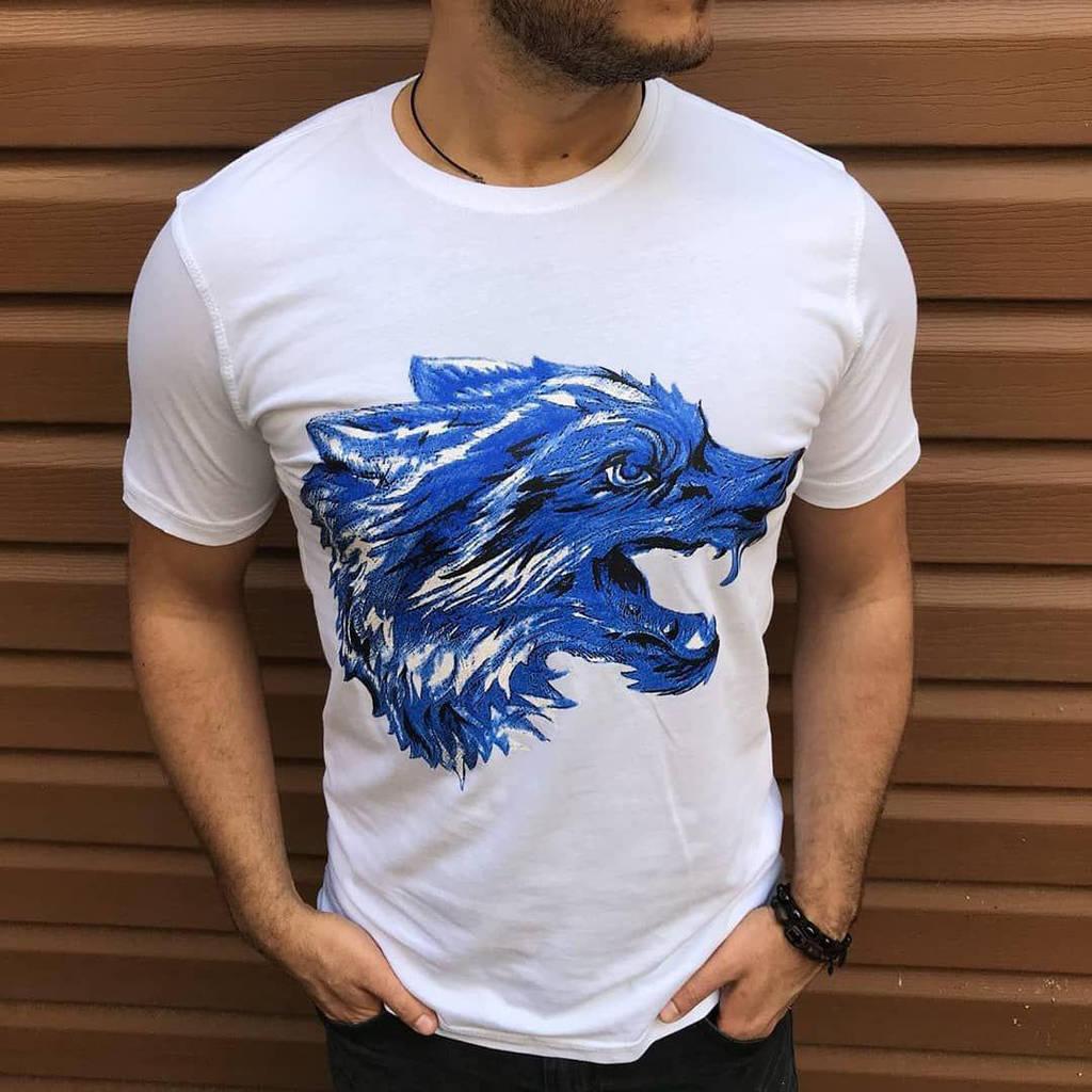 ba42fbd933f6 Купить футболку мужскую Gucci белую в Украине. Компания