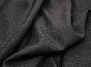 Ткань джинс тонкий темно-серый