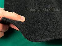 Авто ковролин тягучий, черный шир.1,7 м, ковролин для авто, фото 1