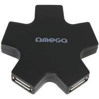 Комп.аксесcуары OMEGA 4 Port USB 2.0 Hub Star