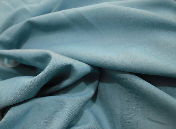 Тканина тонкий джинс блакитний, фото 2