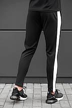 Спортивные штаны beZet Zipp black\white '18, фото 3