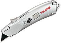 Нож безопасный для лезвий трапеция с автовозвратом лезвия TAJIMA VR103D, фото 1