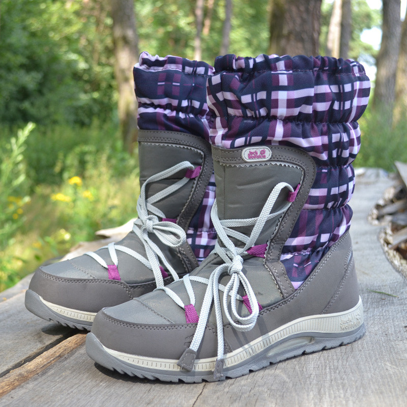 beca461ac Зимние сапоги Jack Wolfskin GIRLS SNOW BIRD р 39, зимняя женская обувь