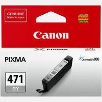 Картридж струйн. CANON CLI-471C PIXMA MG5740/MG6840 Grey