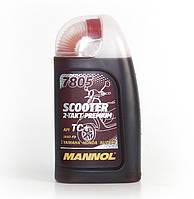 Моторное масло Mannol 2Takt 7805 Premium API TC 1л