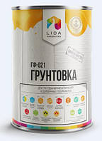 Грунтовка ГФ-021 2,2 кг Лида, Белорусь