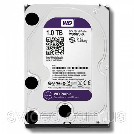Жесткий диск 1 ТБ WD10PURX, фото 2