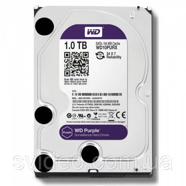 Жесткий диск 1 ТБ WD10PURX
