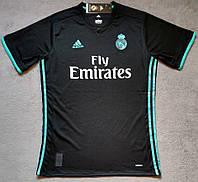Футболка Реал Мадрид черный (сезон 2017-2018), фото 1