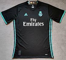 Футболка Реал Мадрид черный (сезон 2017-2018)