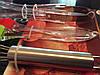 Набор кухонных принадлежностей венчик, лопатка, кисточка, щипцы(4 предмета)  - Фото