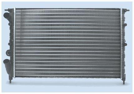Радиатор охлаждения Renault 19 1992-1995 (1.7-1.8) 570*378мм по сотах