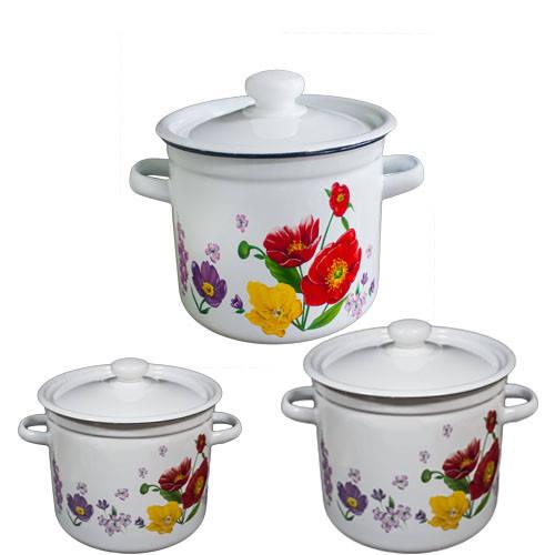 Набір посуду емальований EPOS, Новомосковск, №263 Полев