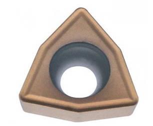 WCMX06T308 P6205 (сталь, нержавеющая сталь) Твердосплавная пластина сменная для сверла , фото 2
