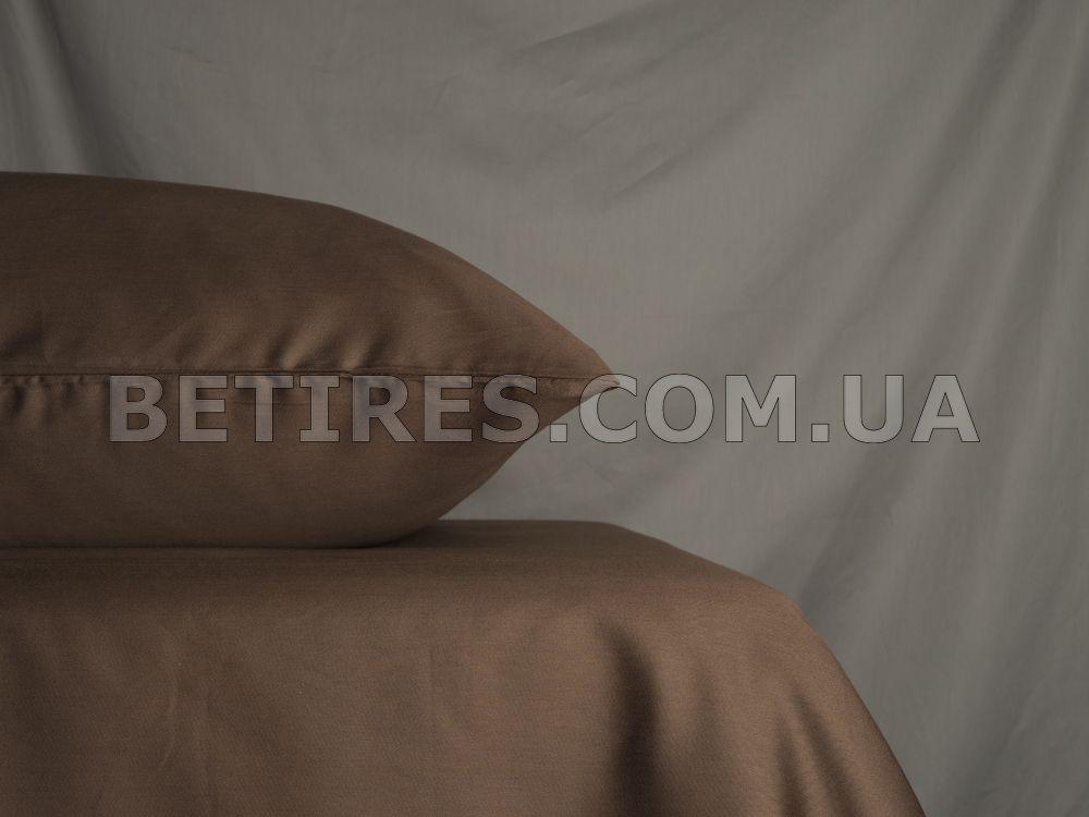 Простирадло сатинове 160x240 PAVIA SATEN KAHVE коричневе