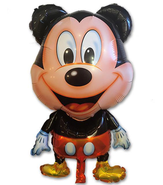 Фольгированный шар Микки Маус 80х54 см