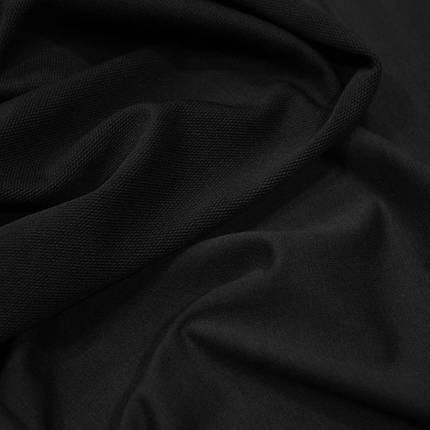 Трикотаж футер двунитка черный, фото 2
