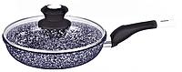 Сковорода Edenberg c крышкой ЕВ-785\22 см
