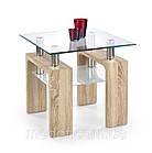 Журнальный столик DIANA H квадратный дуб cонома Halmar, фото 2