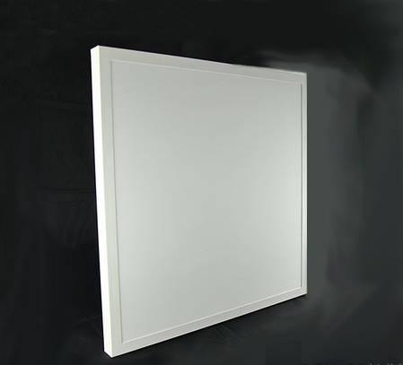 Накладная светодиодная панель Powerlux 600х600мм 36Вт., фото 2
