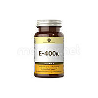 Vitamin World, Витамин E 400 IU, 100 капсул