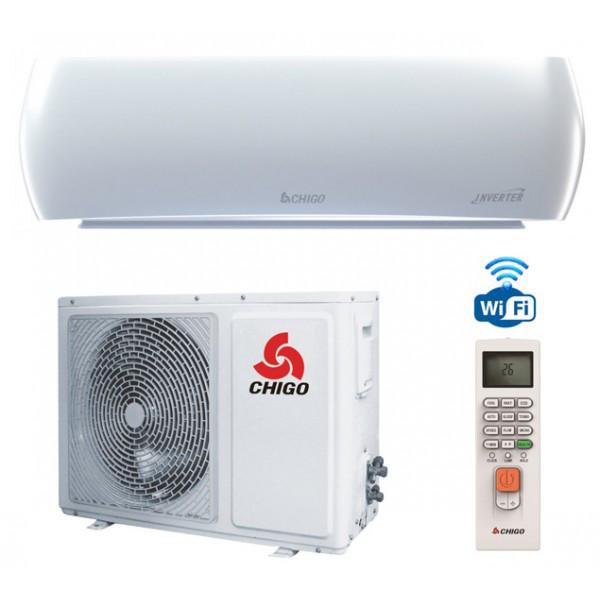 Настенный инверторный кондиционер Chigo CS-25V3A-YA188 Odyssey NEW Wi-fi Inverter