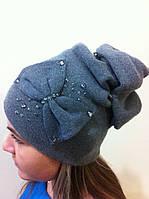 Эксклюзивная женская шапка с необычным дизайном