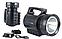 Мощный светодиодный аккумуляторный фонарик TD-6000 15W, фото 3