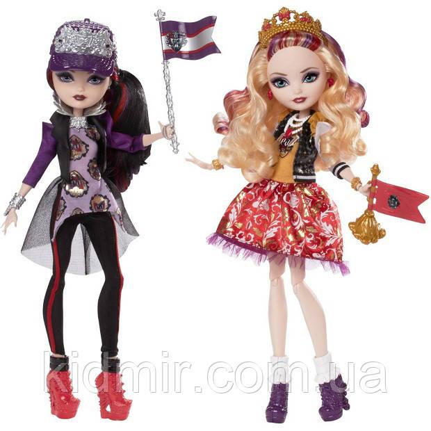 Набір ляльок Ever After High Рейвен і Еппл (Apple and Raven) з серії School Spirit Школа Довго і Щасливо