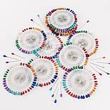 Булавки портновские с перламутровой головкой-каплей, 40 шт, фото 3