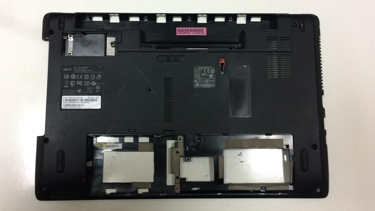 Нижняя часть корпуса, поддон для ноутбука Acer 5740