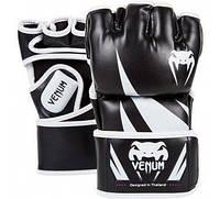 Перчатки MMA Venum Challenger MMA Gloves Black/White