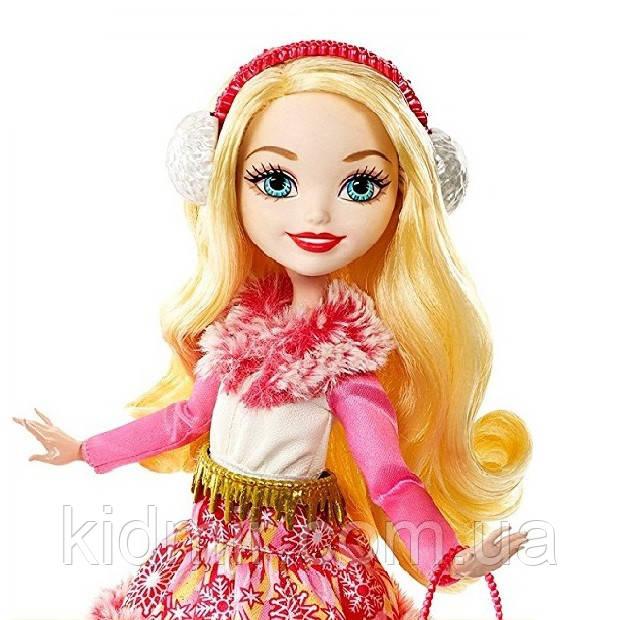 Кукла Ever After High Эппл Уайт (Apple White) Эпическая Зима Эвер Афтер Хай