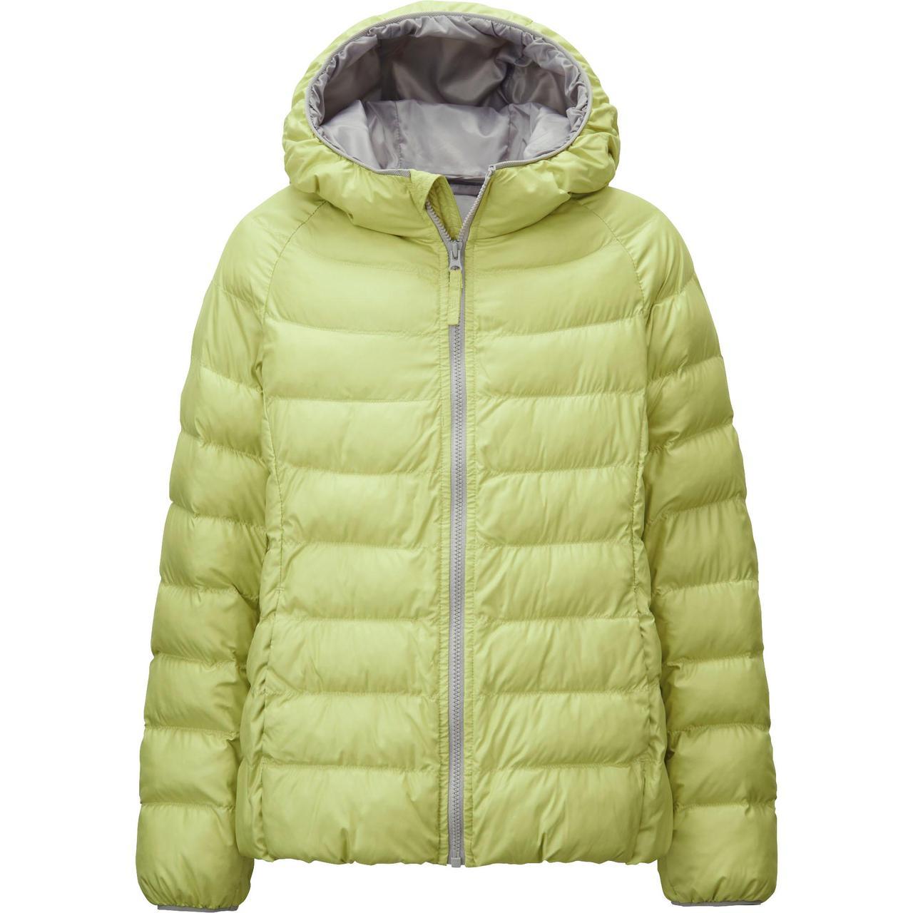 Куртка Uniqlo Girls Light Warm Padded GREEN