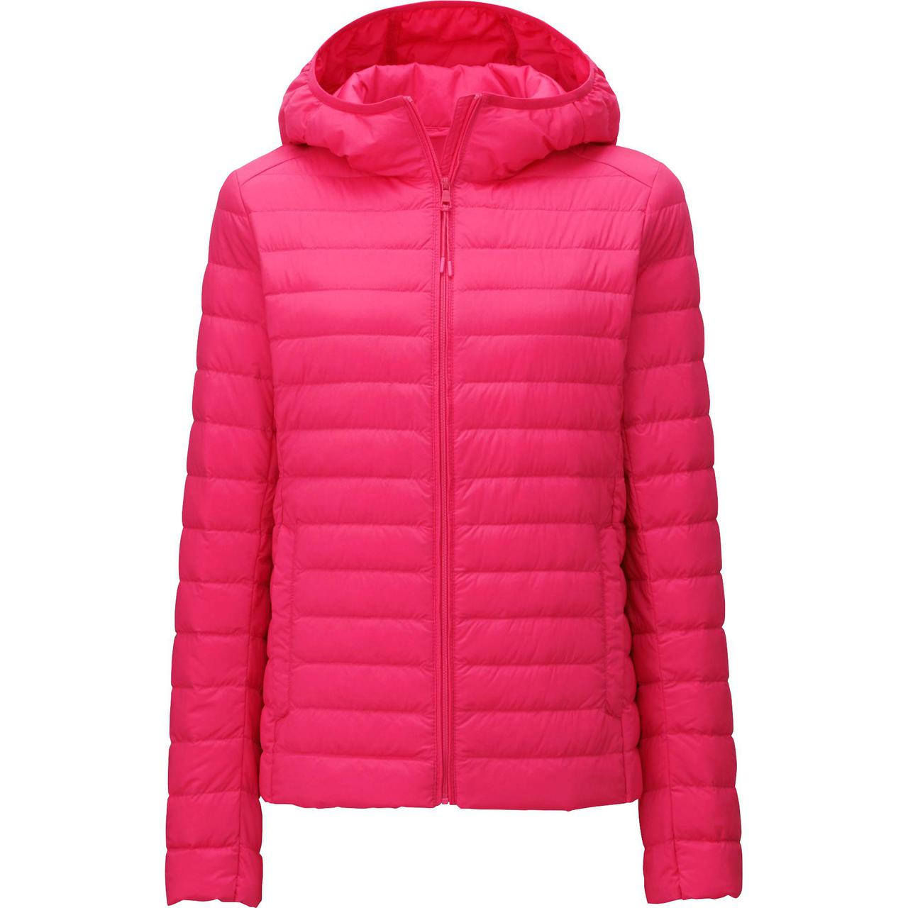 Куртка Uniqlo Women Ultra Light Down Stretch Parka PINK
